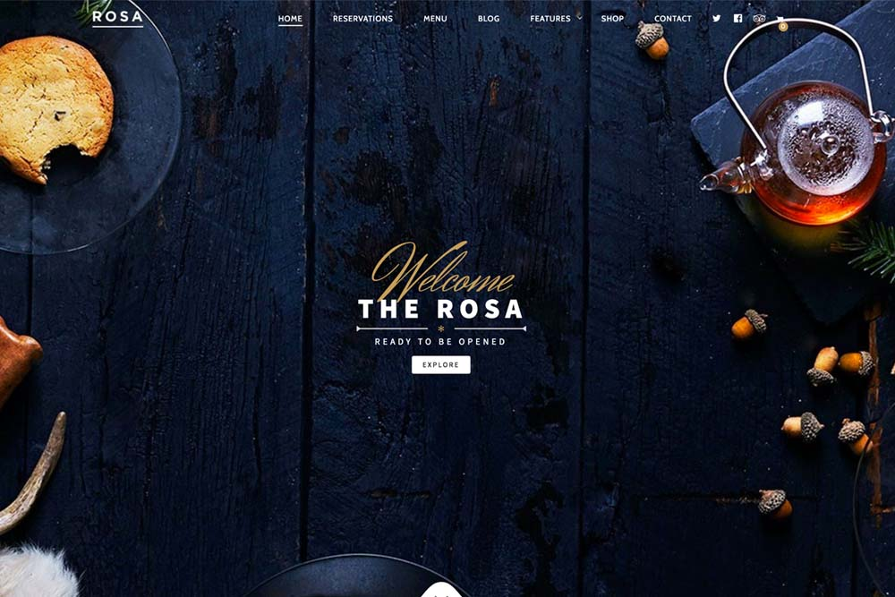 Rosa theme