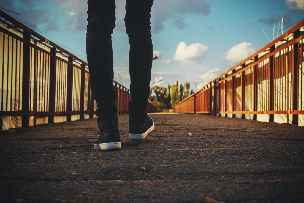 Lang gå tur